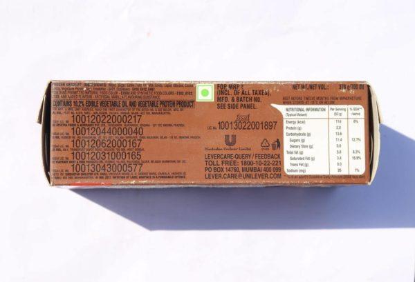 chocolate ice-cream brick
