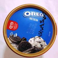 oreo ice cream tub price