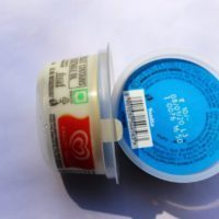 vanilla cup ice cream